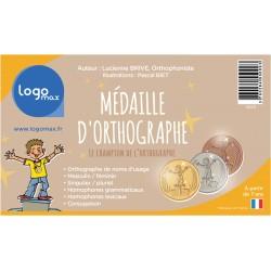 Médaille d'orthographe - Logomax