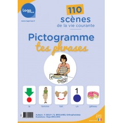 Pictogramme tes phrases - Logomax