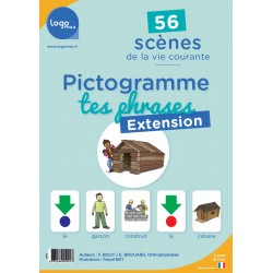 Pictogramme tes phrases - Extension - Logomax