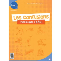 Les confusions phonétiques k/g