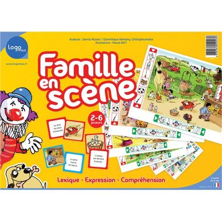 Famille en Scène - Logomax